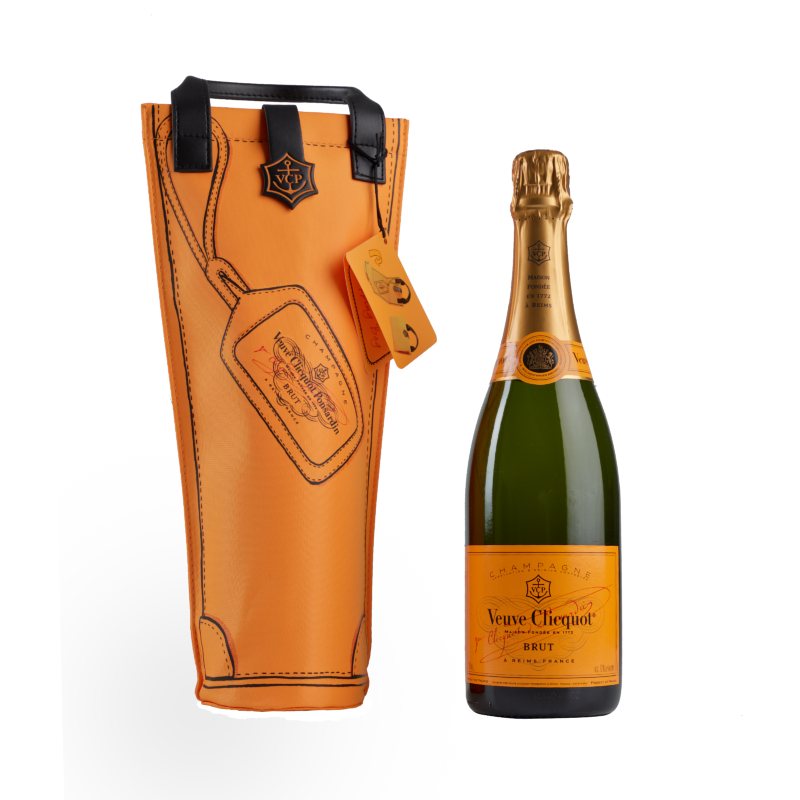 Veuve Clicquot, Brut Yellow Label, Shopping Bag, Champagne, Francia
